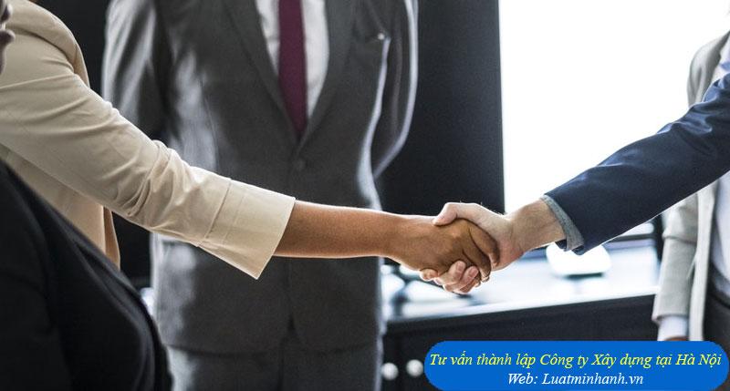 Tư vấn thành lập Công ty Xây dựng tại Hà Nội