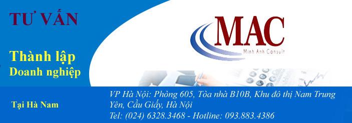Tư vấn thành lập doanh nghiệp tại Hà Nam