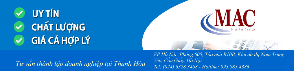 Tư vấn thành lập doanh nghiệp tại Thanh Hóa