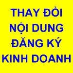 Thay đổi đăng ký kinh doanh quận nam Từ Liêm