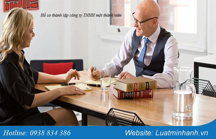 Hồ sơ thành lập công ty TNHH một thành viên