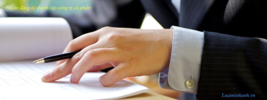 Hồ sơ đăng ký thành lập công ty cổ phần