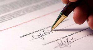 Hồ sơ đăng kí mới hợp đồng theo mẫu và điều kiện giao dịch chung
