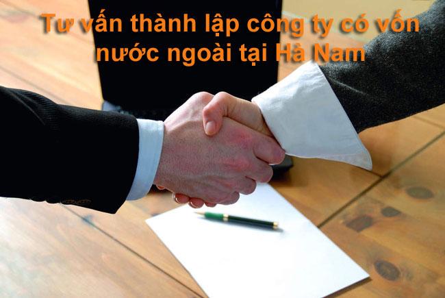 Tư vấn thành lập công ty nước ngoài tại Hà Nam