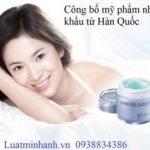 Dịch vụ công bố mỹ phẩm nhập khẩu từ Hàn Quốc