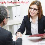 Những trường hợp nhà đầu tư phải điều chỉnh giấy chứng nhận đầu tư