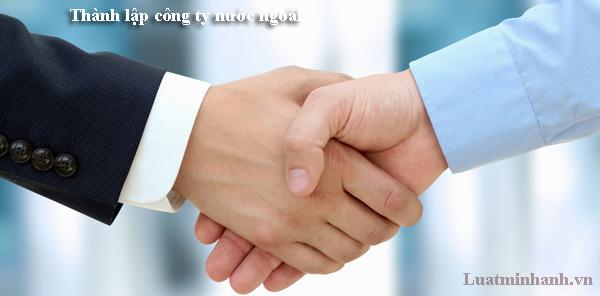 Thành lập công ty nước ngoài