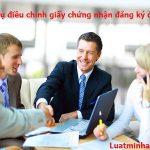 Dịch vụ điều chỉnh giấy chứng nhận đăng ký đầu tư