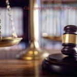 Các nguyên tắc hành nghề luật sư ở Việt Nam