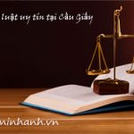 Công ty tư vấn luật tại quận Cầu Giấy