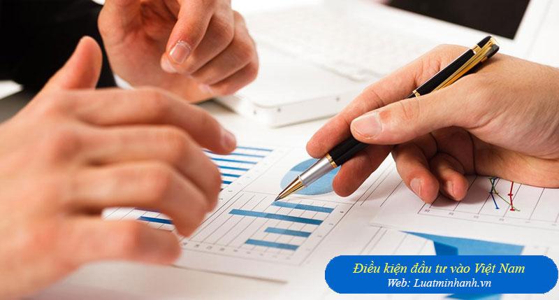 Điều kiện đầu tư vào Việt Nam
