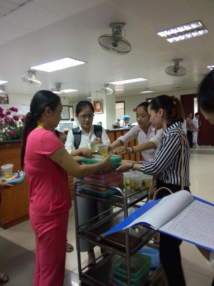 Từ thiện tại Viện huyết học truyền máu TW