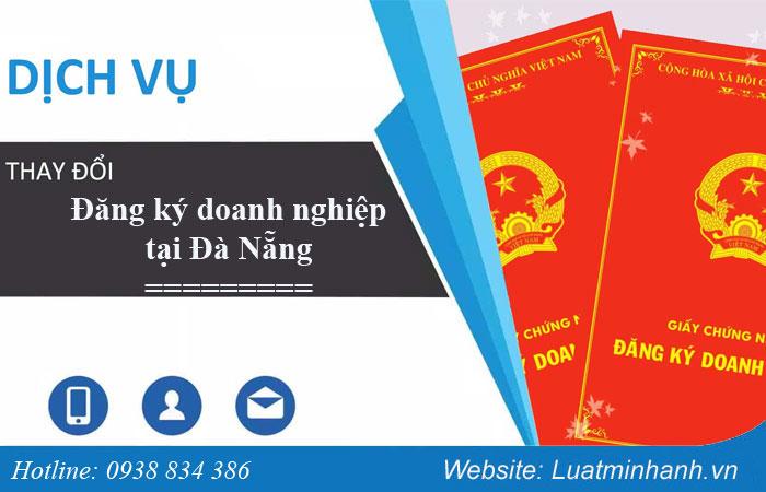 Thay đổi đăng ký doanh nghiệp tại Đà Nẵng