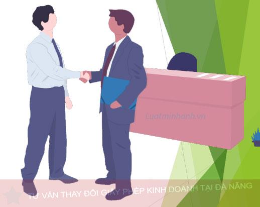 Tư vấn thay đổi giấy phép kinh doanh tại Đà Nẵng