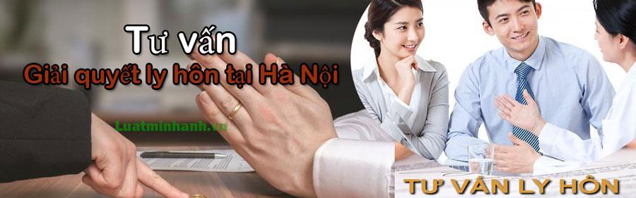 Tư vấn giải quyết ly hôn tại Hà Nội