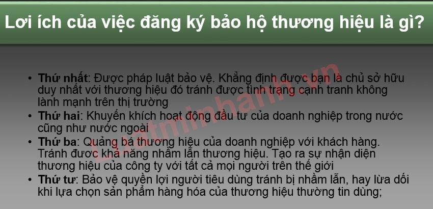 Dịch vụ tư vấn bảo hộ thương hiệu tại Bắc Giang