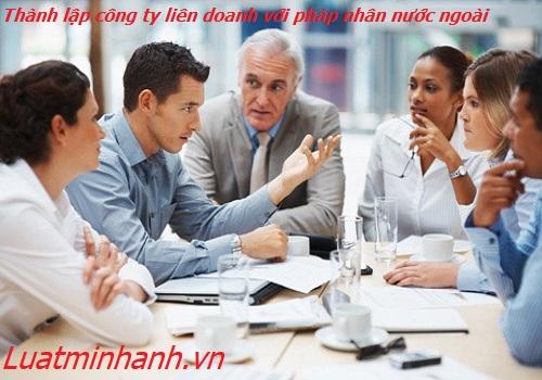 Thành lập công ty liên doanh với pháp nhân nước ngoài