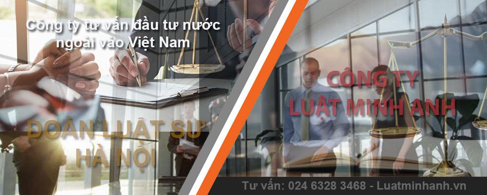 Công ty tư vấn đầu tư nước ngoài vào Việt Nam